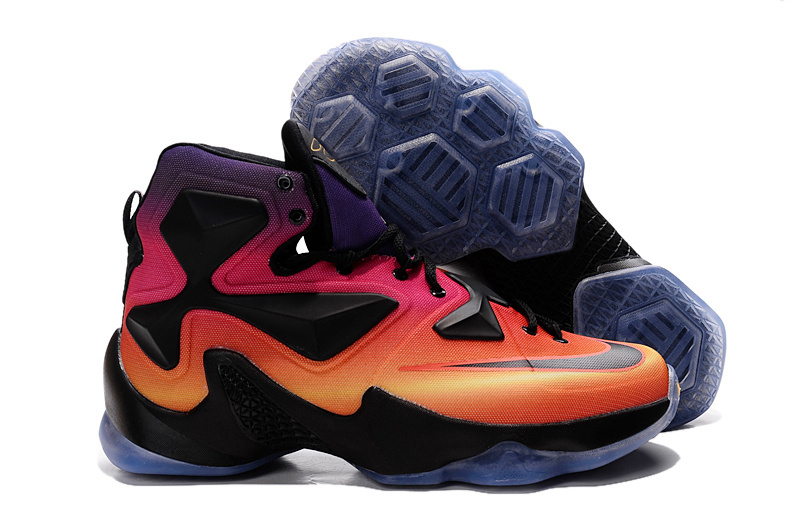 Nike Lebron James 13 Doernbecher Orange Black Shoes
