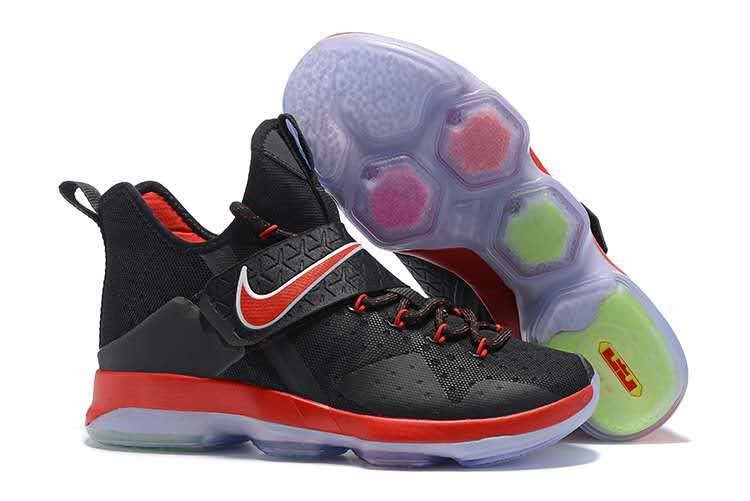 Nike Lebron James 14 Black Red Shoes