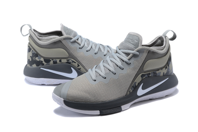 Nike Lebron Wintnes 2 Carbon Grey White Shoes
