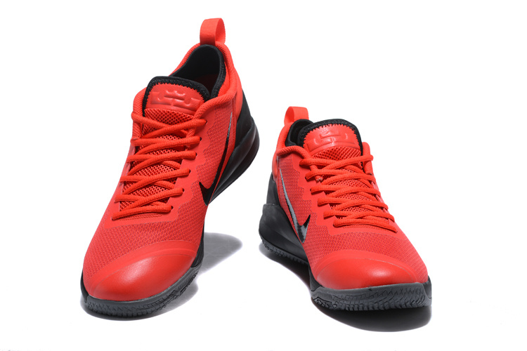 Nike Lebron Wintness 1 Red Black Shoes