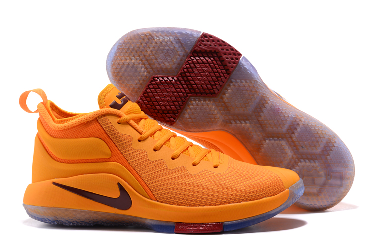 Nike Lebron Wintness 1 Yellow CAVS Shoes