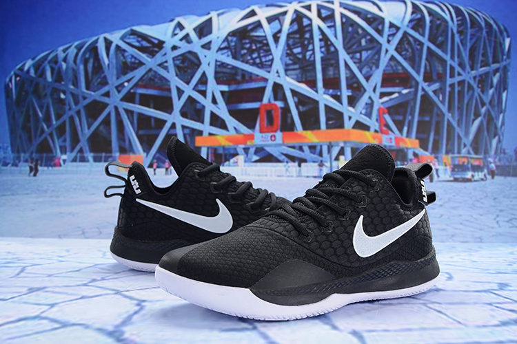 Nike Lebron Wintness 3 Black White Shoes