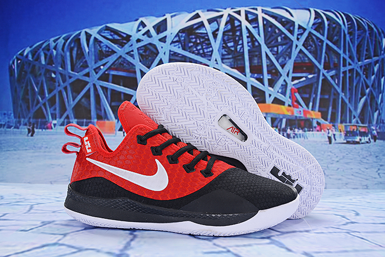 Nike Lebron Wintness 3 Red Black Shoes