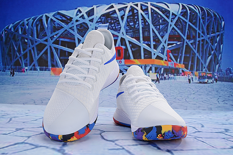 Nike Lebron Wintness 3 White Rainbow Shoes