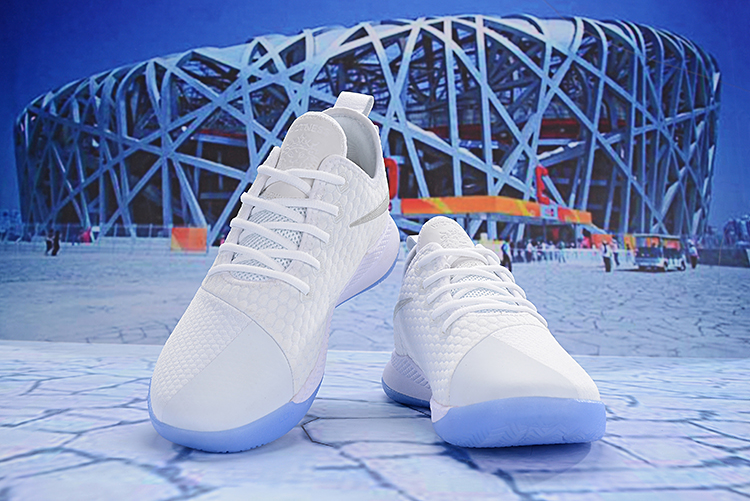 Nike Lebron Wintness 3 White Sky Blue Shoes