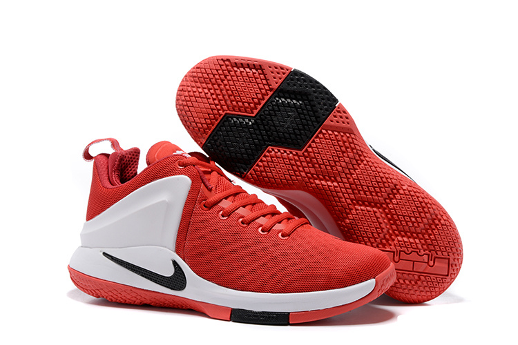 Nike Lebron Witness 1 Red White Black Shoes