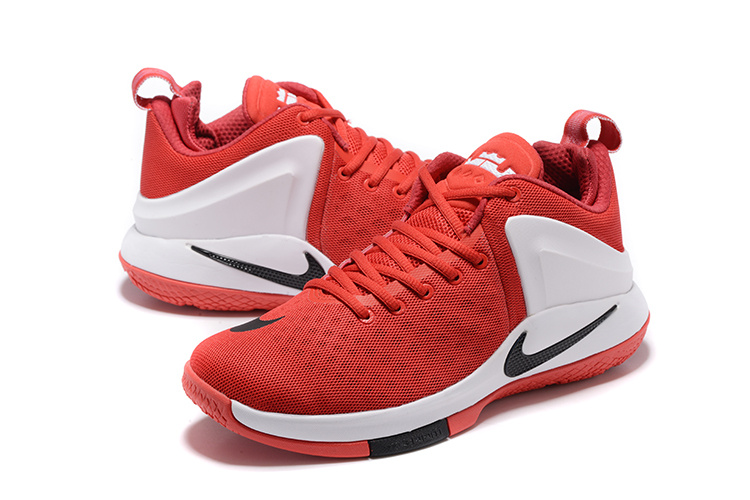 Nike Lebron Witness 1 Red White Shoes
