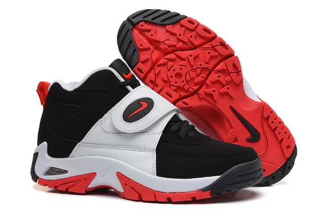 Nike Mason Black White Red Shoes