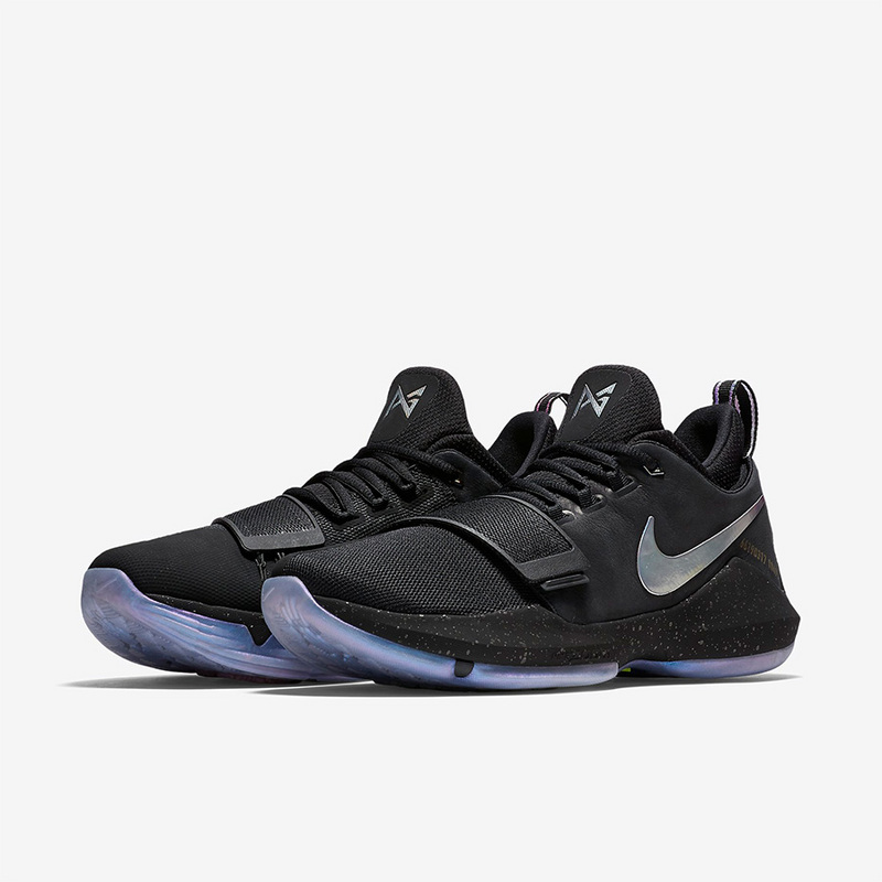 Nike PG 1 Ferocity Black Silver Shoes