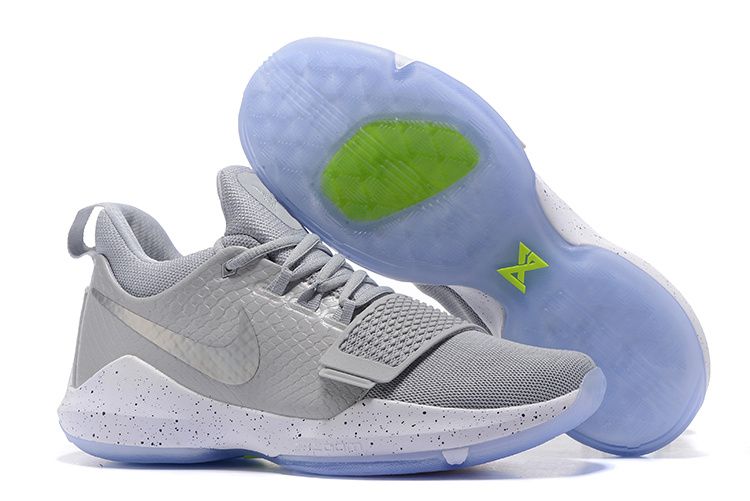 Nike PG 1 Ferocity Wolf Grey Blue Sole Shoes