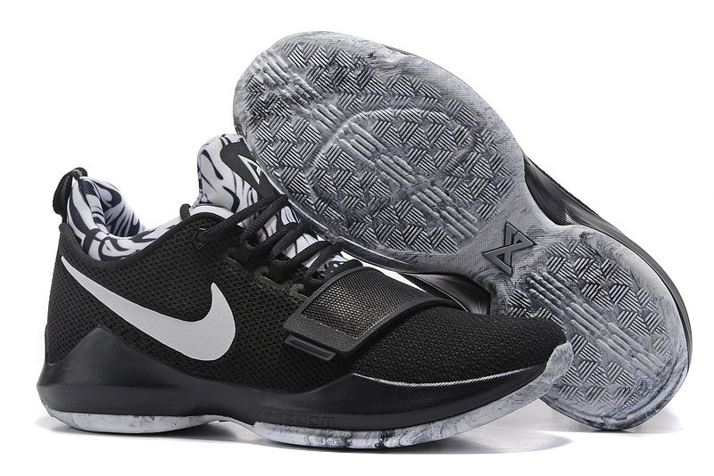 Nike PG 1 Flyknit Black Grey Shoes