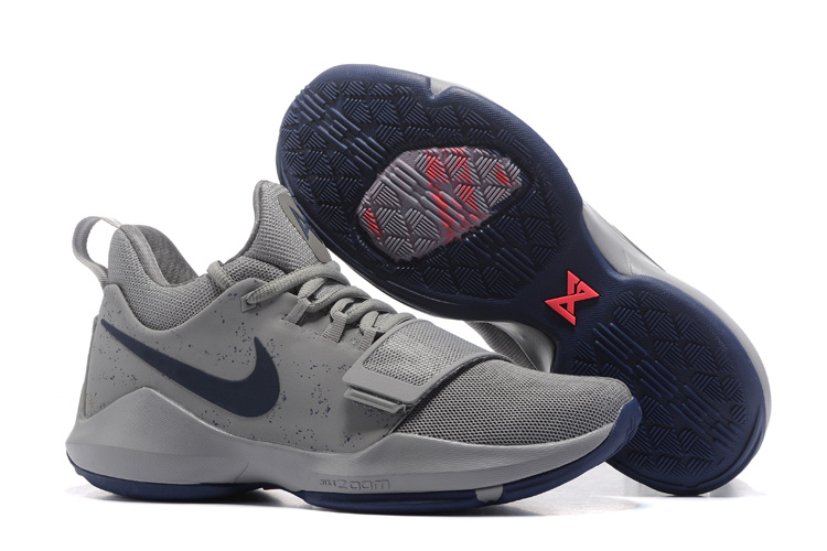Nike PG 1 Wolf Grey Blue Shoes