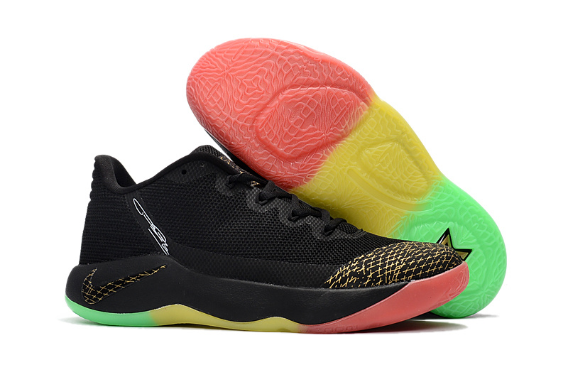 Nike PG 2 Black Gold Colorful Shoes