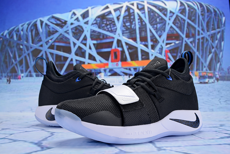 Nike PG 2 Plus Black Blue Shoes