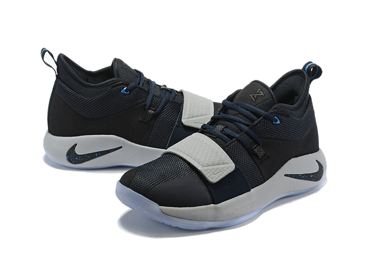 2019 Nike PG 2 Pluse Carbon Black Blue