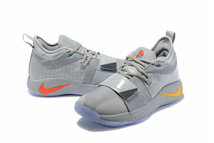 2019 Nike PG 2 Pluse Joint Name Grey
