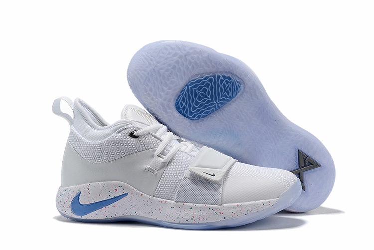 2019 Nike PG 2 Pluse Joint Name White