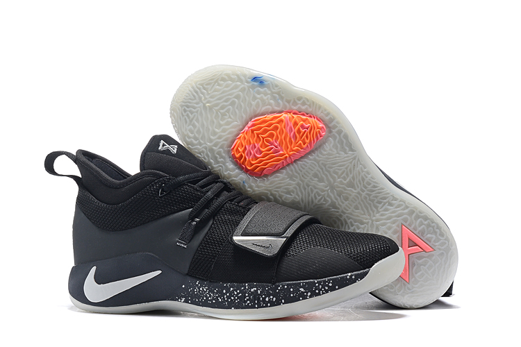 Nike PG Two Plus Black Sliver Shoes