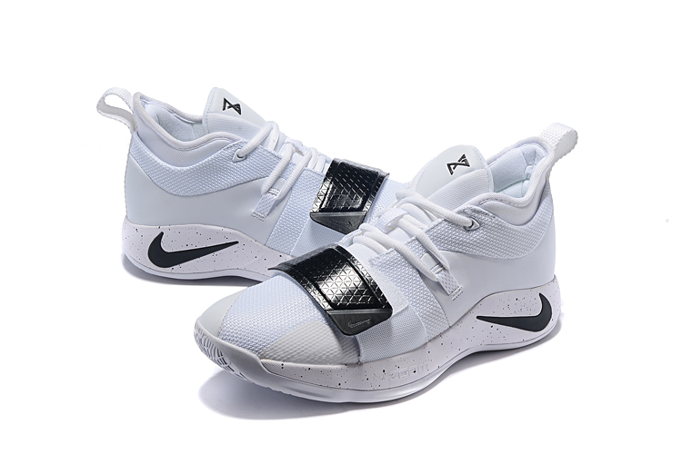 Nike PG Two Plus White Black Shoes