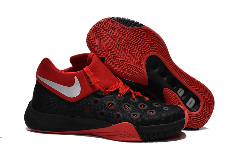 Nike Paul George 2016 Black Red Basketball Shoes