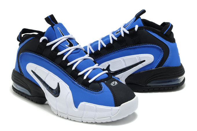 Nike Penny Hardaway 1 Blue Black White Shoes