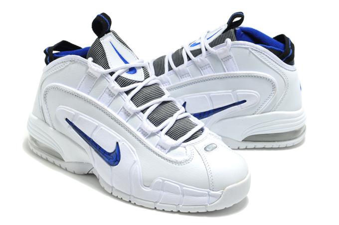 Nike Penny Hardaway 1 White Blue Shoes