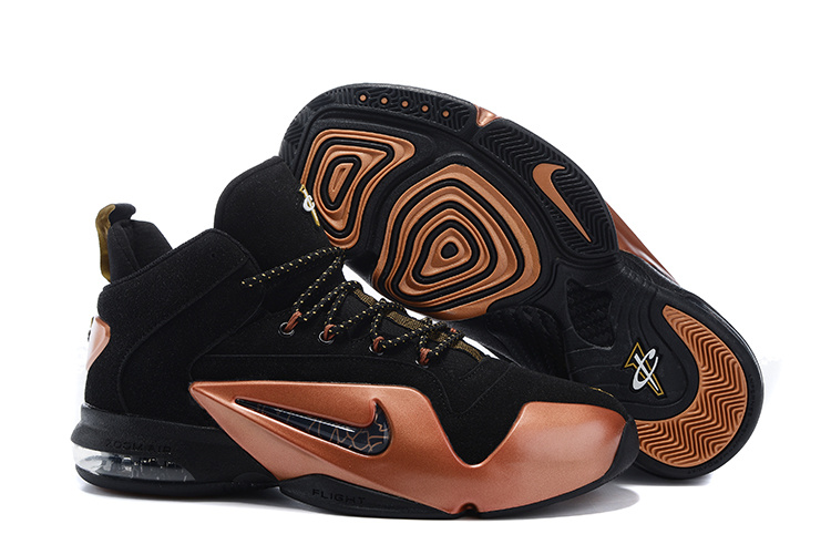 Nike Penny Hardaway 6 Black Gold Shoes