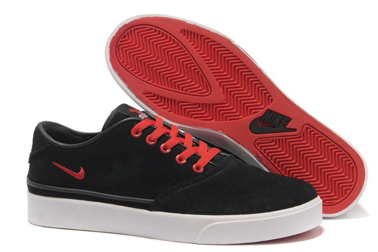 Nike Pepper Low Black Red Shoes