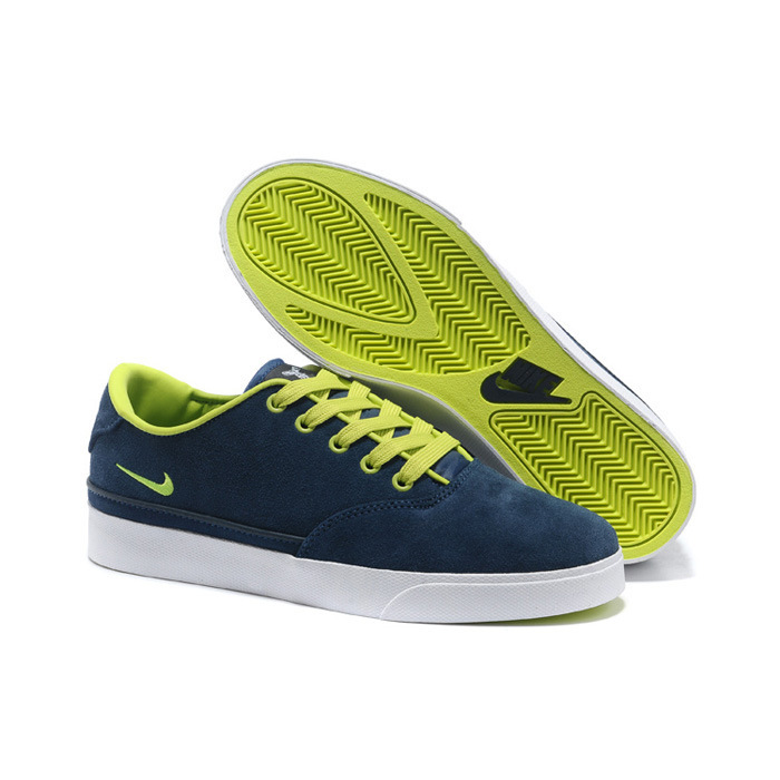 Nike Pepper Low Blue Fluorscent Green Shoes