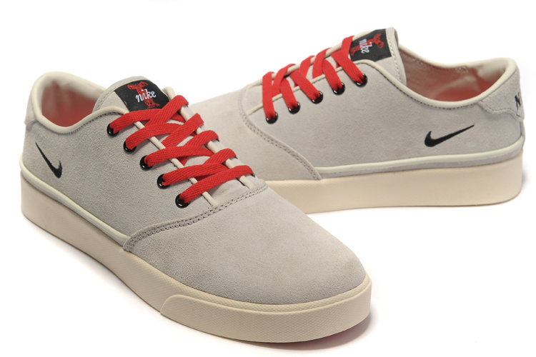 Nike Pepper Low Cream Red Shoes