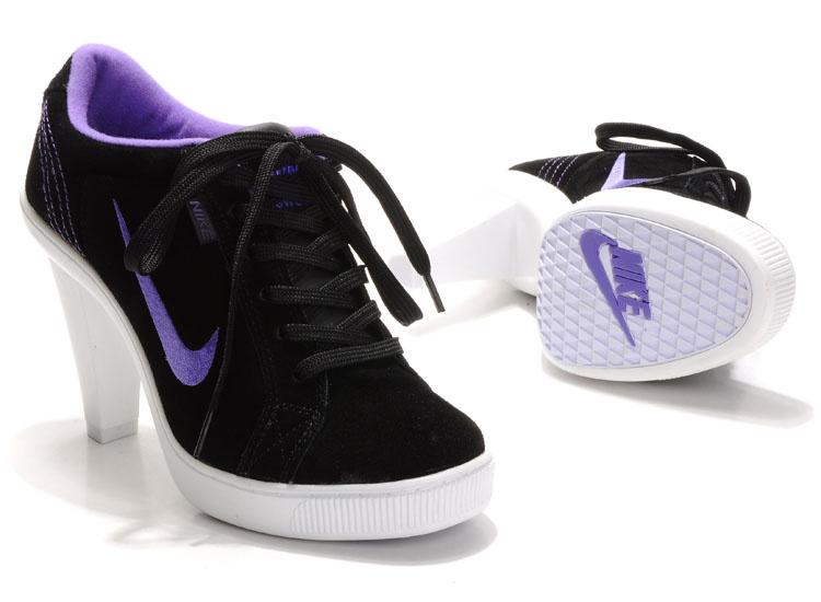 Nike SB Low Heels Black Purple