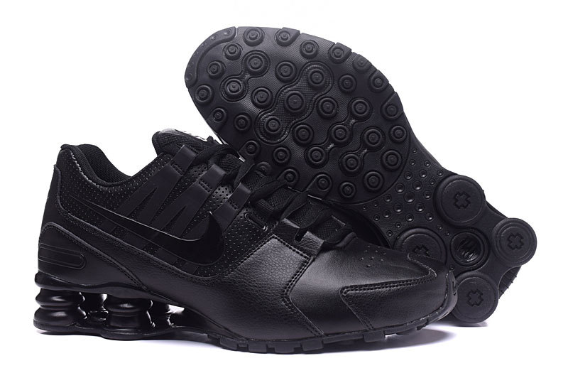 Nike Shox Avenue All Black Shoes