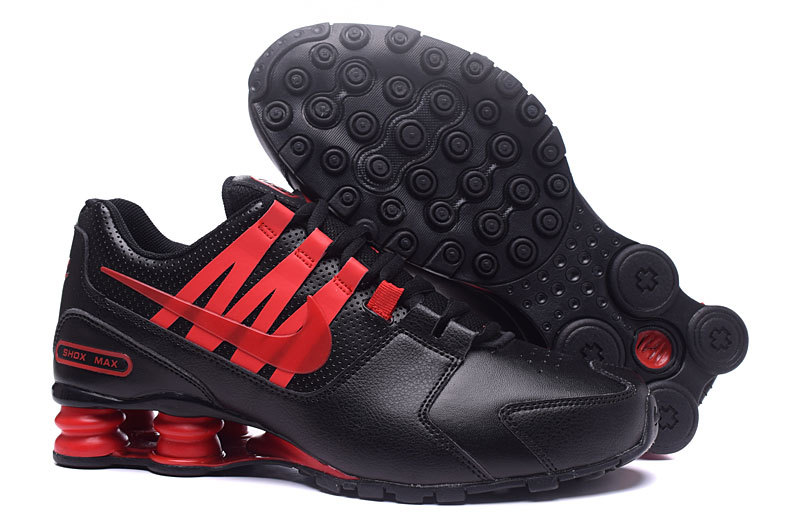 Nike Shox Avenue Black Red Shoes