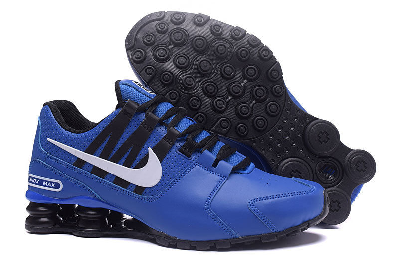 Nike Shox Avenue Blue Black White Shoes