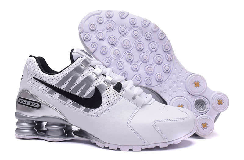 Nike Shox Avenue White Black Shoes