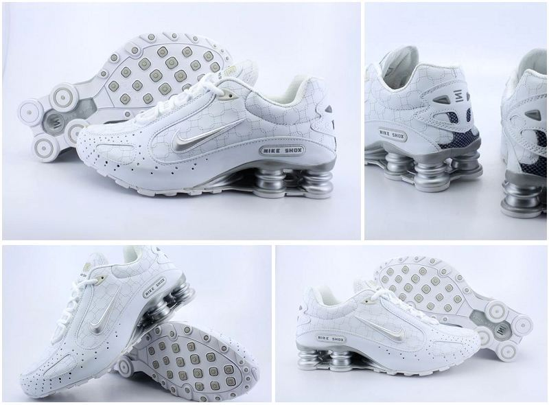 Nike Shox Moster All White