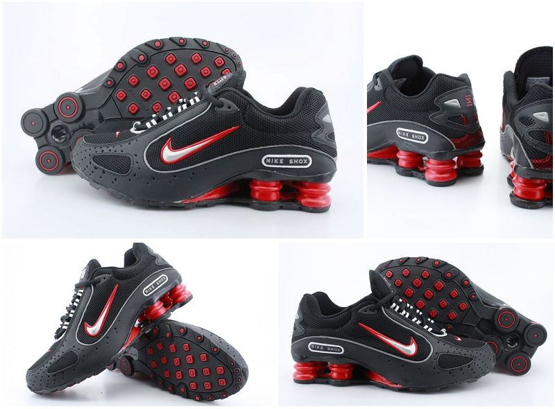 Nike Shox Moster Black Red