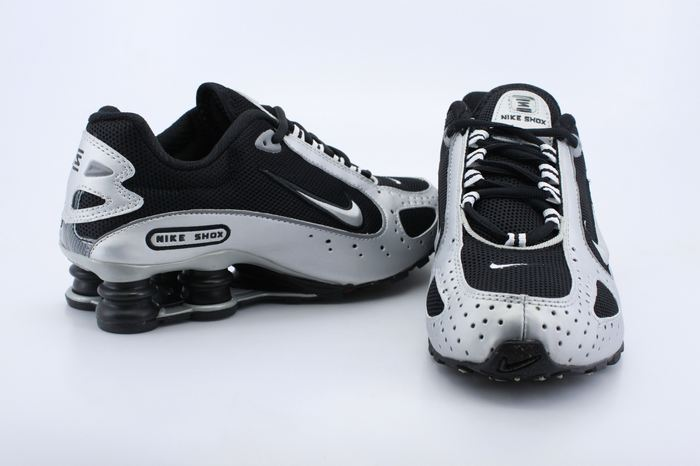 Nike Shox Moster Black Silver