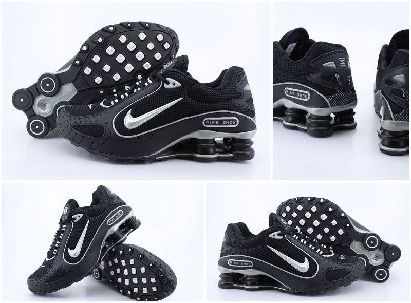 Nike Shox Moster Black White Logo