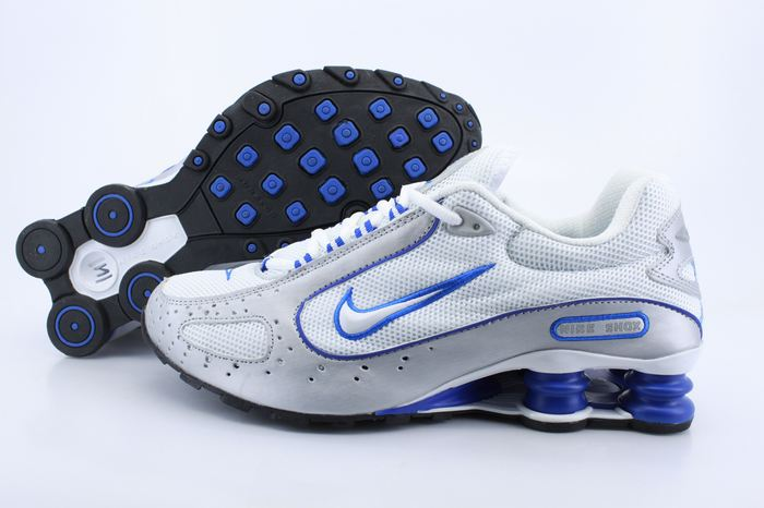 Nike Shox Moster White Grey Blue