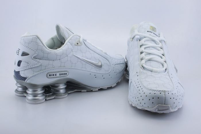 Nike Shox Moster White