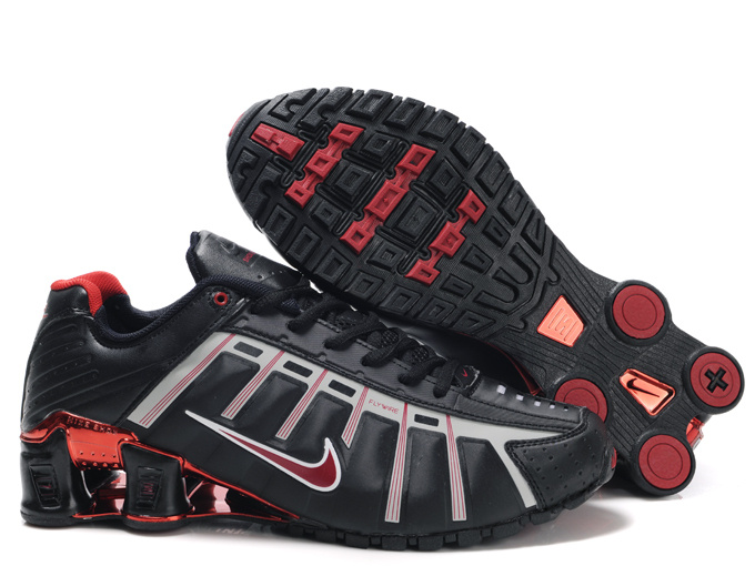 Nike Shox NZ III Black Red Grey Shoes