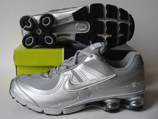 Nike Shox R2 Grey Silver Shoes