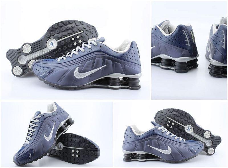 9b6e789c916a89 Nike Shox Blue Silver Enjoy free shipping and ...