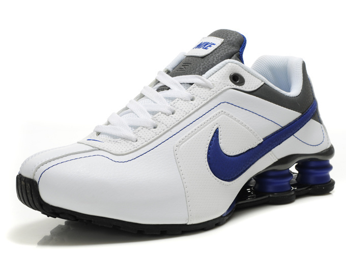 nike shox r4 white black blue r4016 7700 kobe and