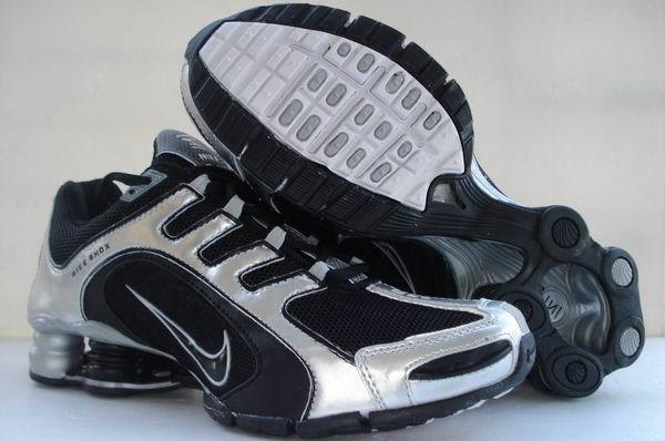 Nike Shox R5 Silver Black Shoes