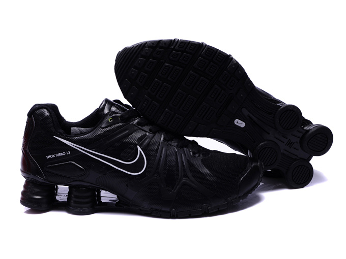 Nike Shox Turbo+13 All Black Shoes