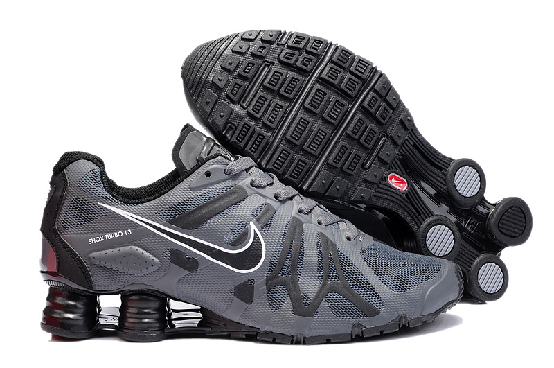 Nike Shox Turbo+13 Grey Black Shoes