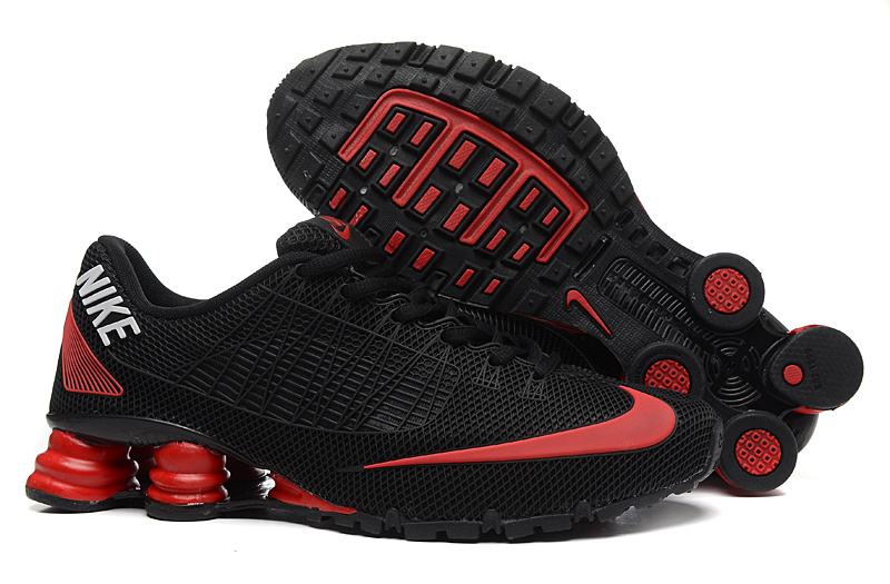 e3f0e99d9339 Red And Black Nike Shox Turbo For Girls