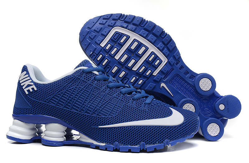 Nike Shox Turbo 21 Blue White Shoes